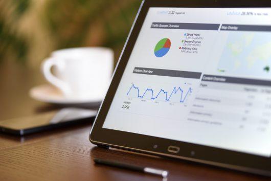 User doing data analytics for SEO Glasgow purposes
